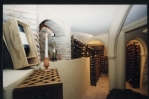 climate controlled wine cellar