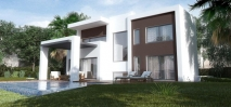 D5632 Brand new contemporary style villas 1 (Large)