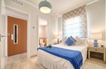master bedroom showflat