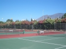 Tennis courts-fitness-playground