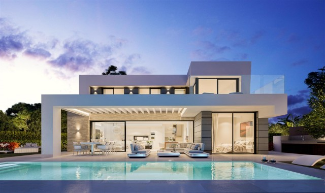 Modern villa project for sale Marbella Spain Type A (1)